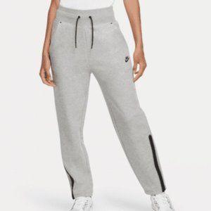 NWOT Nike Tech Fleece Grey Sweatpants Ankle Zip M